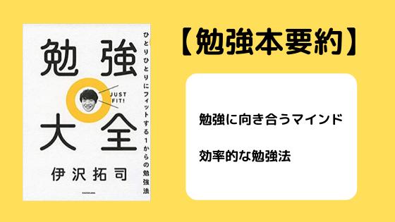 【東大卒】伊沢拓司の効率的な勉強法!仕事力も育つ【本の要約も】