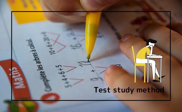 Test study method