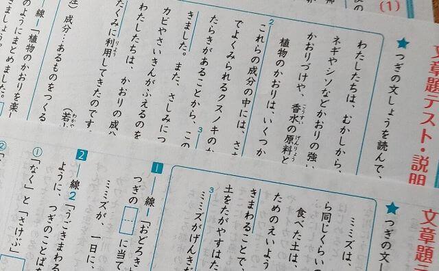 不登校児の独学で勉強①国語